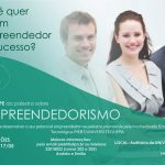 PIEBT/UNIVERSITEC promove palestra sobre Empreendedorismo