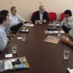 Representantes do Instituto Internacional de Tecnologia da Índia discutem possibilidades de parcerias
