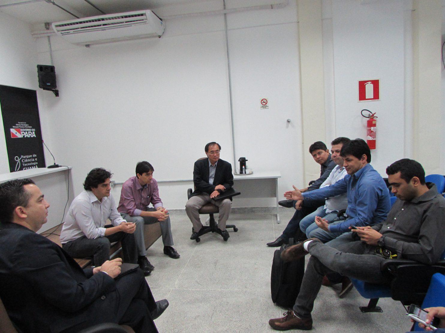 Empresários do setor de software visitam o PCT Guamá