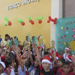 Children of Terra Firme participate in Christmas event in the technology park