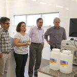 Adepará makes a technical visit to the Milk Quality Lab
