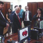 Embaixador da Alemanha no Brasil visita Centro do INPE na Amazônia, instalado no PCT Guamá