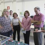 First lady and NAC team visit Technological Park