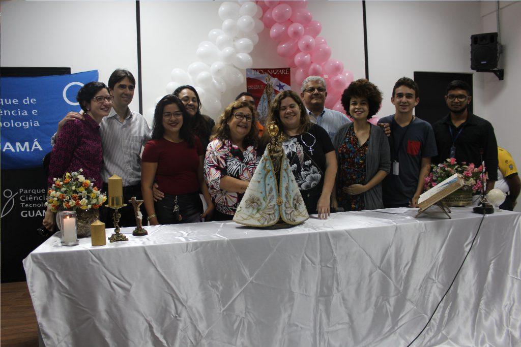 Equipe da Fundação Guamá