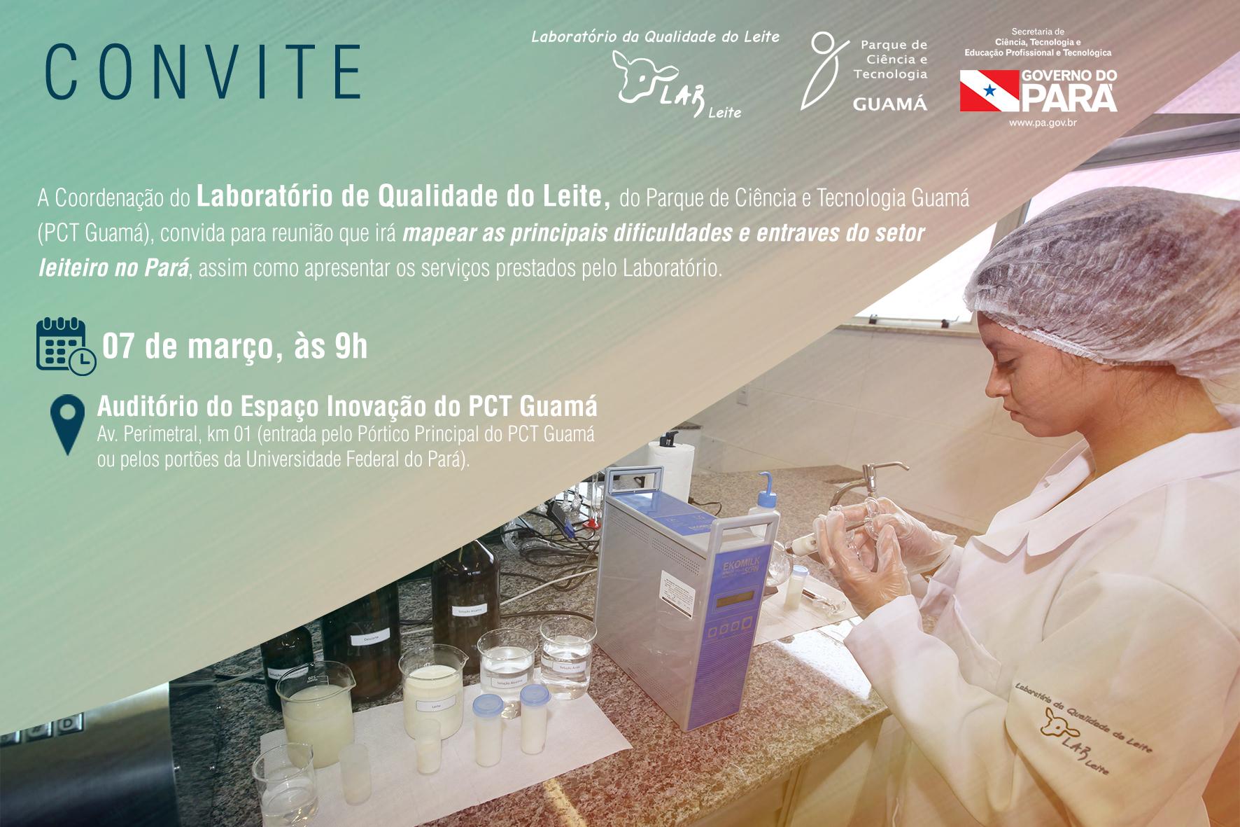Convite Visita Lab do Leite