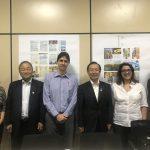 PCT Guamá recebe visita de comitiva da Província japonesa de Yamagata