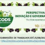 X Colóquio Organizações, Desenvolvimento e Sustentabilidade (CODS 2019): inscrições encerram essa semana